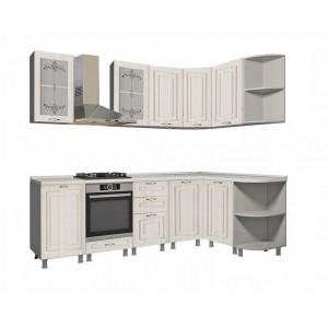 """Кухня """"Прованс МДФ"""" 240 х 150 см, Прованс"""