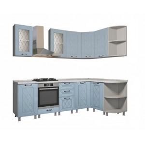 "Кухня ""Афина МДФ"" 240 x 150 см, Арктик"