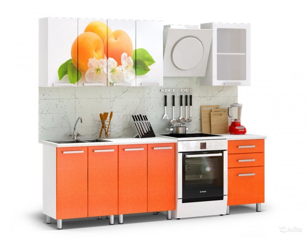"""Кухня """"Персик"""" 1,8 м"""