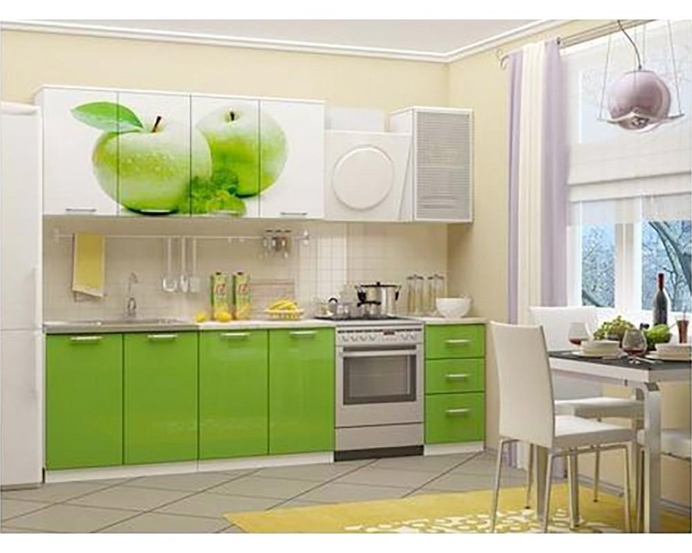 """Кухня """"Яблоко"""" 2 м"""