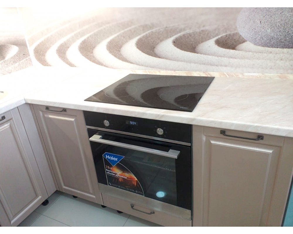 """Кухня """"Гарда"""" Капучино/Пурпур №10"""