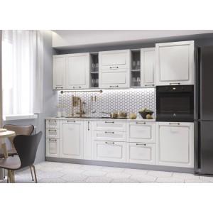 """Кухня """"Гарда"""" Белый патина №7"""