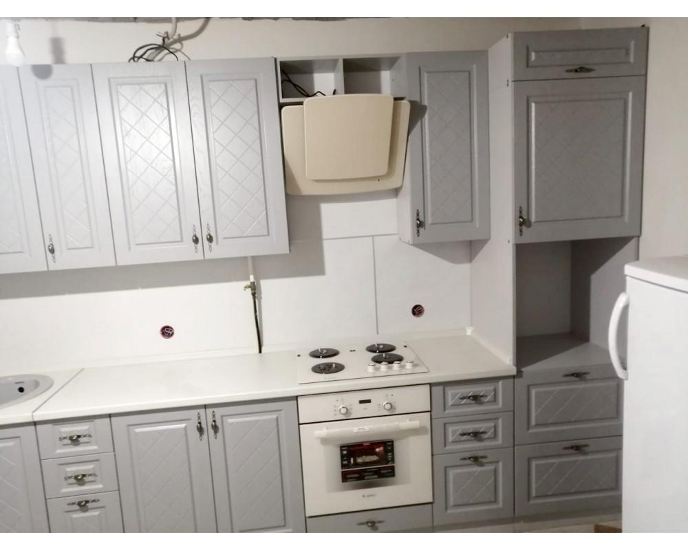 """Кухня """"Гранд"""" Белый/Пепел №4"""
