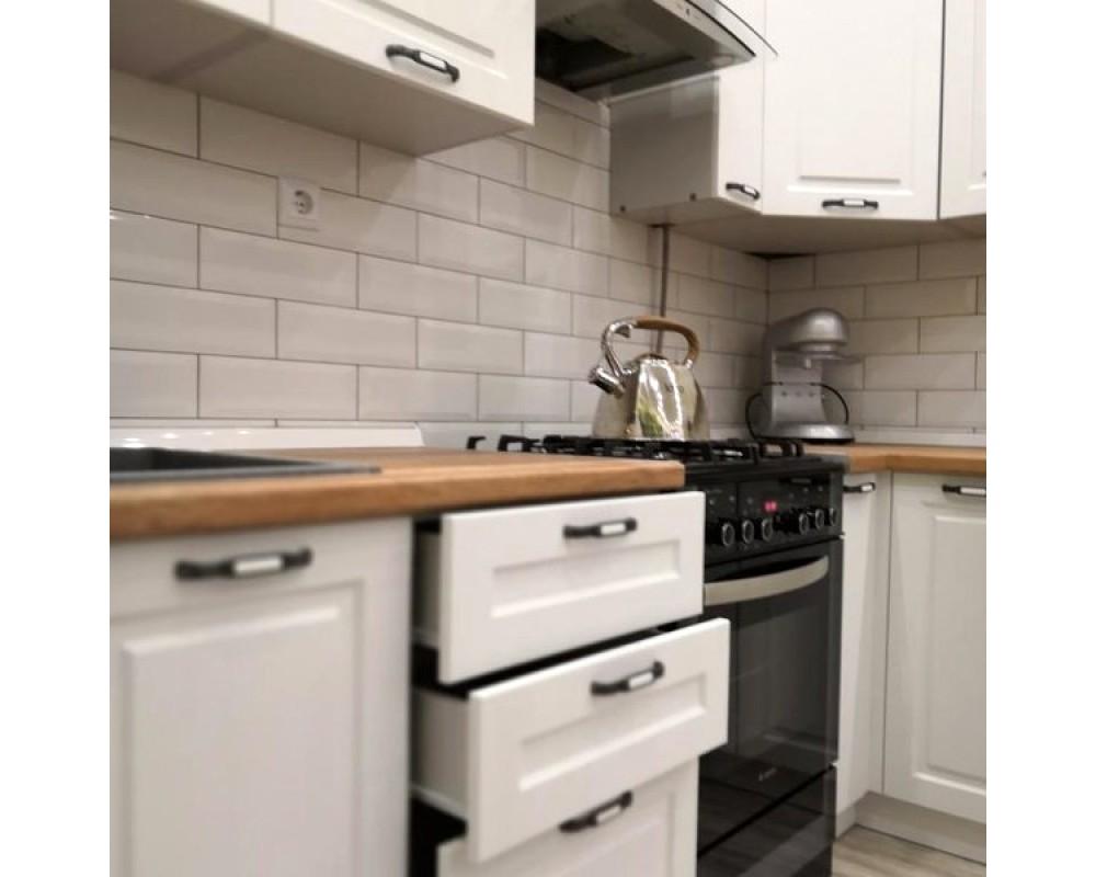 "Кухня ""Капри"" Липа белый №2"