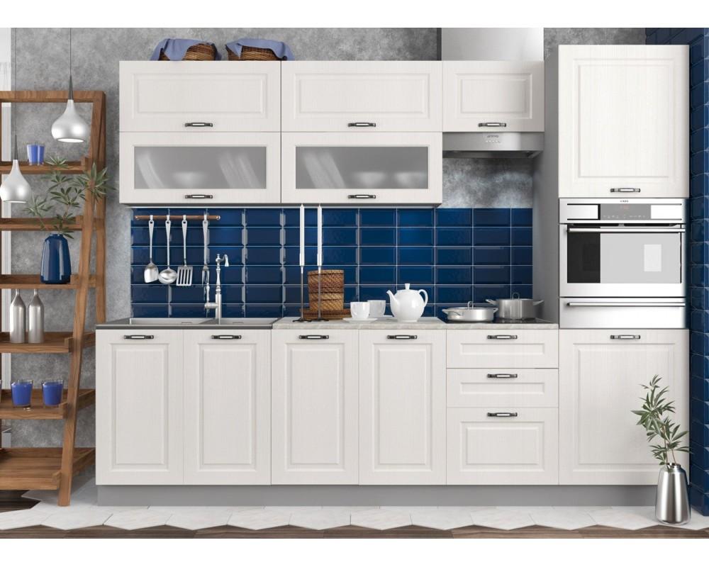 "Кухня ""Капри"" Липа белый №3"