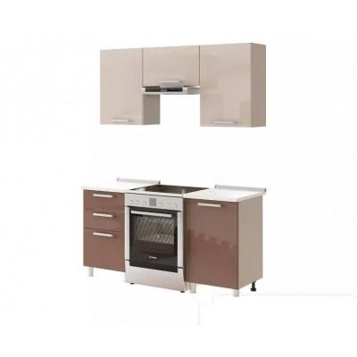 "Кухня ""Арабика МДФ"", 160 см"