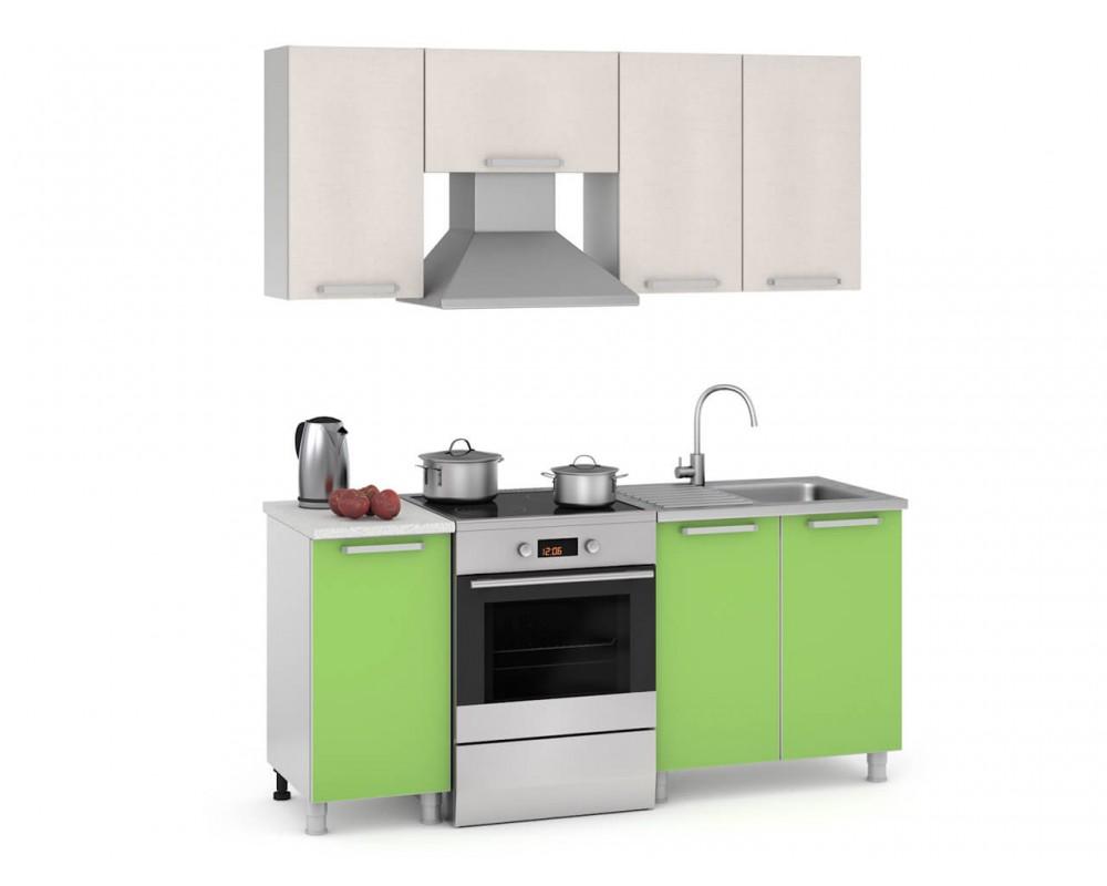"Кухня ""Мята ЛДСП"", 180 см"