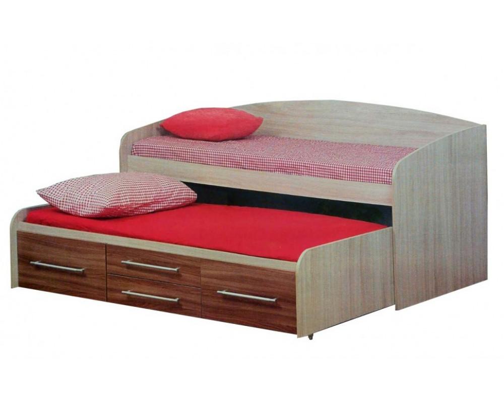 """Детская кровать """"Адель-5"""" Дуб Молочный"""
