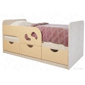 """Детская кровать """"Лего-крем 163 см"""""""