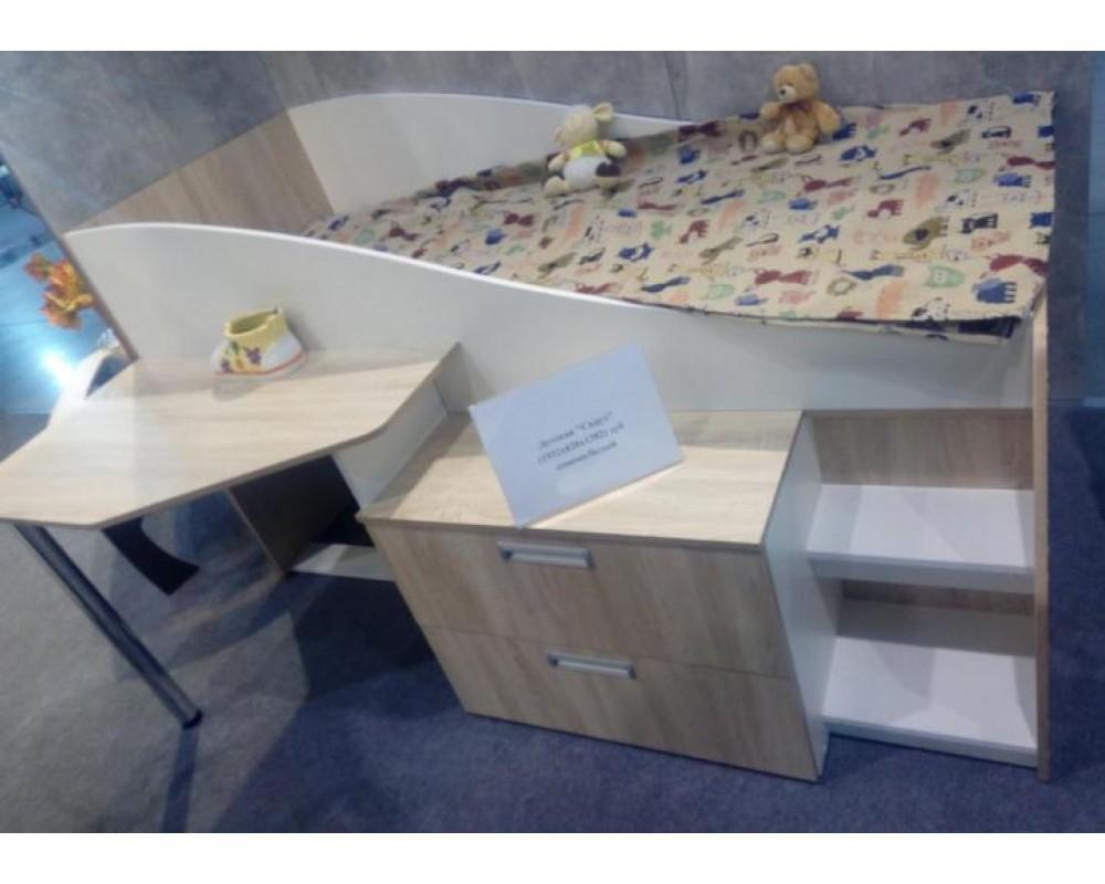 """Детская кровать с рабочим местом """"Скаут new"""""""