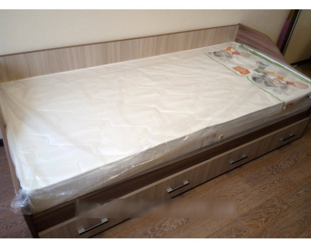 """Детская кровать """"Город"""""""