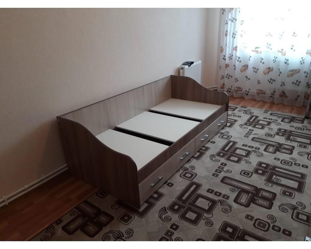 """Детская кровать """"Город"""" с ящиками"""
