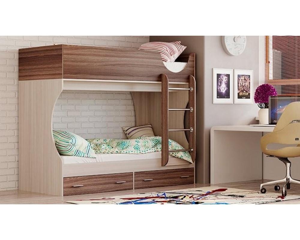 """Детская двухъярусная кровать """"Адель-Д2"""""""