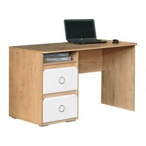 """Компьютерный стол №1 """"Скай"""" Белый глянец"""