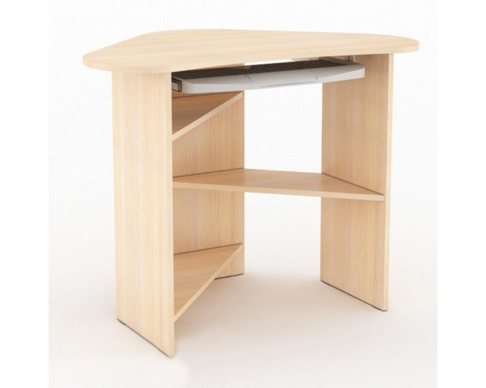"""Компьютерный стол """"КС 800"""" угловой Дуб молочный (С1)"""