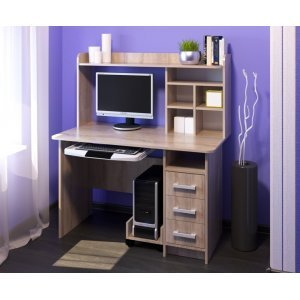 "Компьютерный стол ""КС 1200"" Дуб сонома"