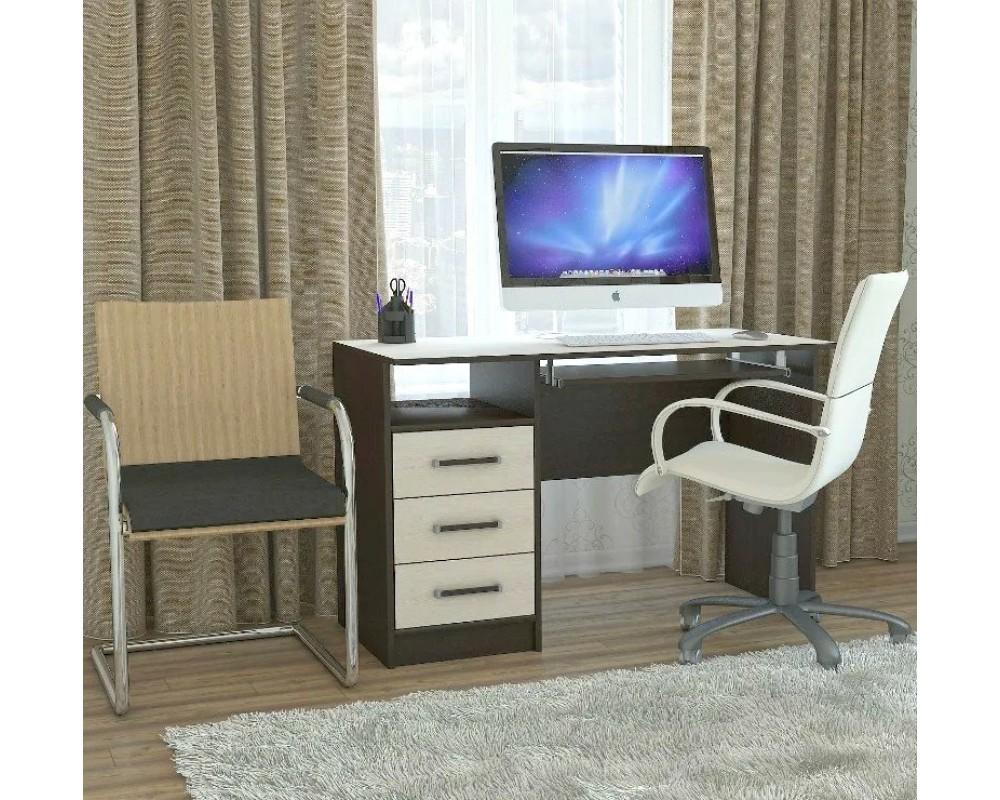 """Компьютерный стол """"КЛ-2.0"""" Венге/Дуб молочный"""
