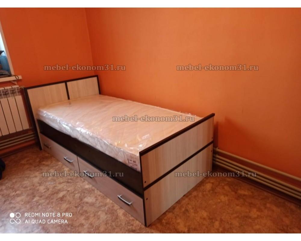 """Кровать """"Кровать """"Сакура"""" 0,9 м с матрасом"""