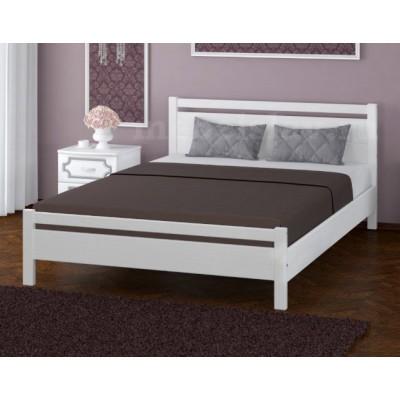 """Кровать """"Вероника-1"""" 1,4 м Белый античный"""