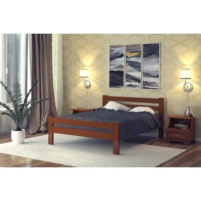 """Кровать """"Катрин"""", Орех 1.2 м"""