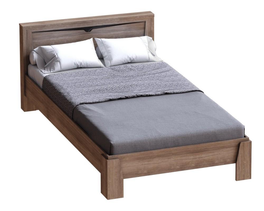 """Кровать """"Соренто"""" 1.2м Дуб Стирлинг"""