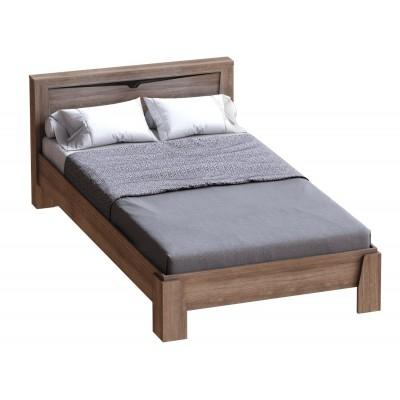 """Кровать """"Соренто"""" 1.4м Дуб Стирлинг"""