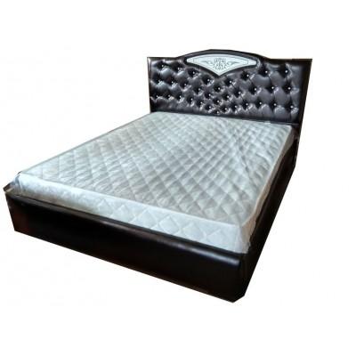 """Кровать """"Шарм 2"""", махагон 1,4 м"""