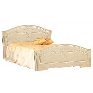 """Кровать №1 """"Лира"""" 1.6м (с основанием)"""
