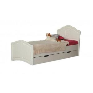 """Кровать №3 0,8 с ящиками (с основанием) """"Тиффани"""""""