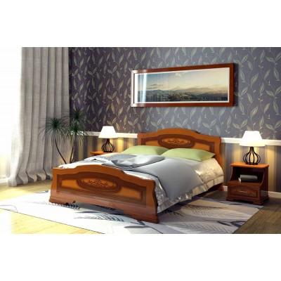 """Кровать """"Болеро"""" Орех 1.2 м"""