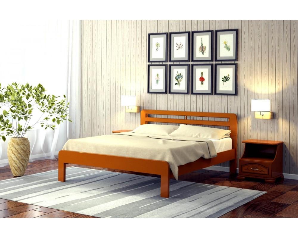 """Кровать """"Грация 1"""", 0.8 м Орех"""