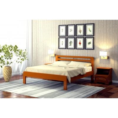 """Кровать """"Грация 1"""", 1.2 м Орех"""