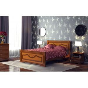 """Кровать """"Империя"""", 1.6 м Орех"""