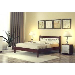 """Кровать """"Катрин-2"""", 1.6 м Орех/белый"""