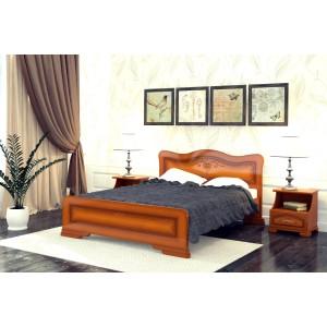"""Кровать """"Лилия"""", 1.6 м Орех"""
