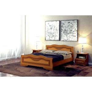 """Кровать """"Венеция"""" Орех 1,6 м"""