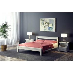 """Кровать """"Ева"""", белый 1.2 м"""