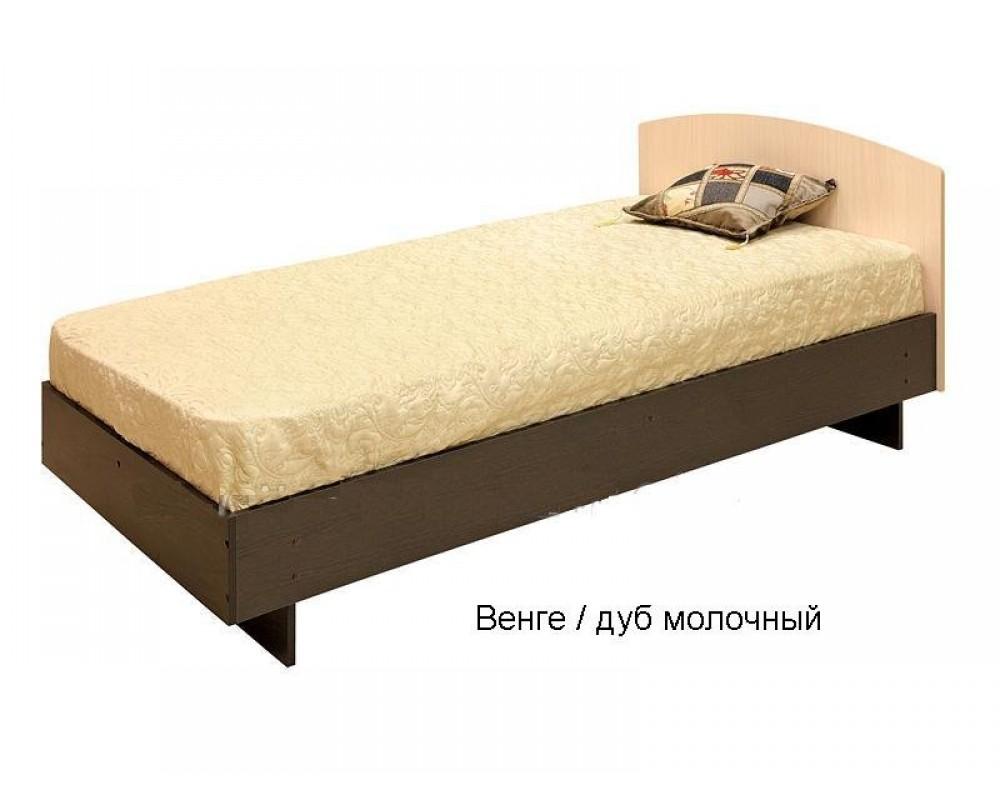 """Кровать """"К-0,9"""" Венге с матрасом"""