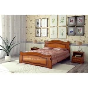 """Кровать """"Жизель"""", Орех 1.6 м"""