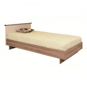 """Кровать """"КСП-0,9"""" ясень с матрасом"""