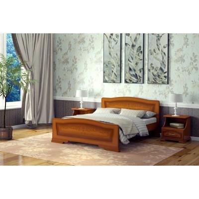 """Кровать """"Орхидея"""", Орех 0.9 м"""