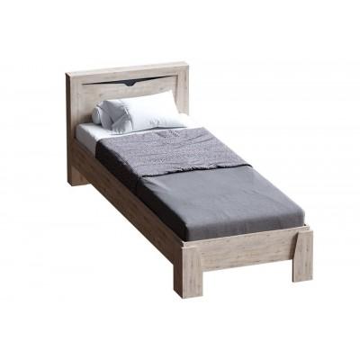 """Кровать """"Соренто"""" 90 см Дуб Бонифаций"""