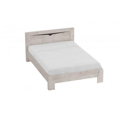 """Кровать """"Соренто"""" 1.4м Дуб Бонифаций"""