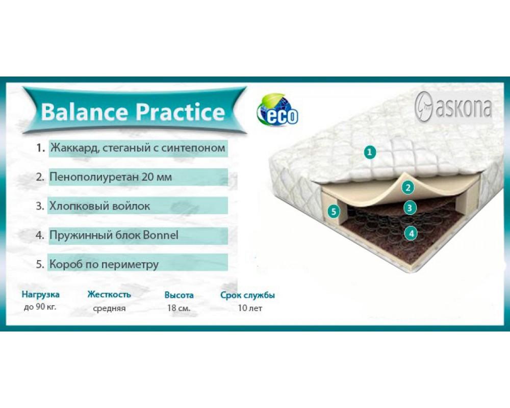 """Матрас """"Аскона Balance Practice"""""""
