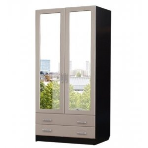 "Шкаф 2-х створчатый с ящиками ""Роберта"""