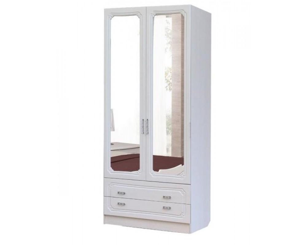"""Шкаф 2-х створчатый с ящиками """"Тиффани"""""""